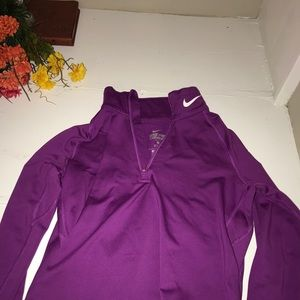 Nike Dry Fit fitted quarter zip